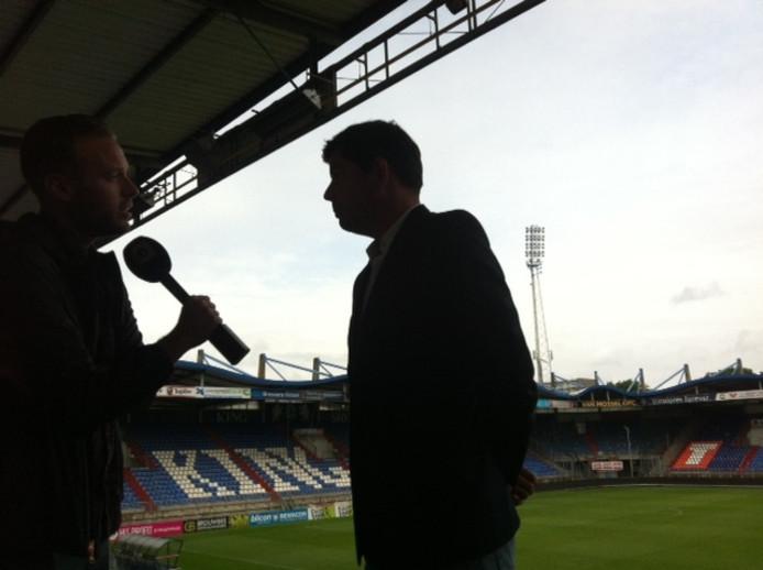 De nieuwe Willem II-trainer Erwin van de Looi.