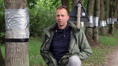 """Twee weken na het absurde vandalisme in De Liereman: """"101 bomen nog in leven... maar het blijft afwachten"""""""