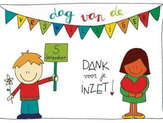 Vrijwilligers krijgen postkaart met waardebon van 10 euro