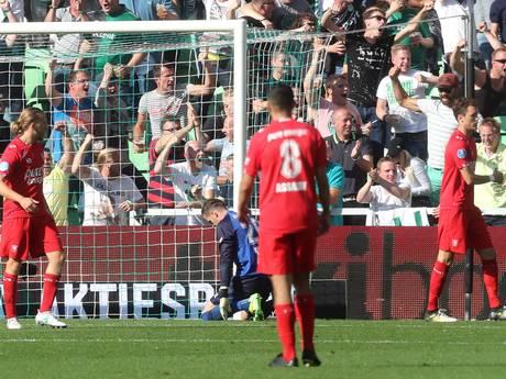 Aanvallend machteloos FC Twente verliest bij FC Groningen