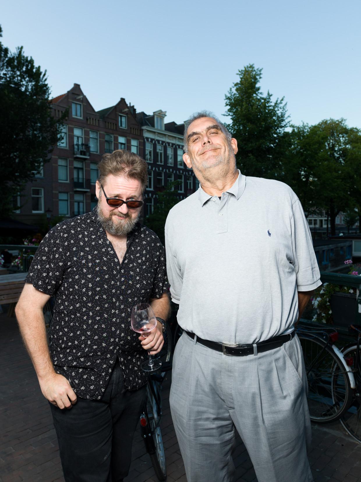 Rob Hoogland en Martin Koolhoven.