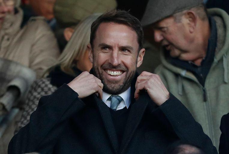 Gareth Southgate heeft geen rijke trainerscarrière, maar kwalificeerde zich met Engeland gemakkelijk voor het WK in Rusland. Beeld REUTERS