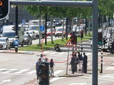 Politie grijpt verdachte midden in de verkeersdrukte