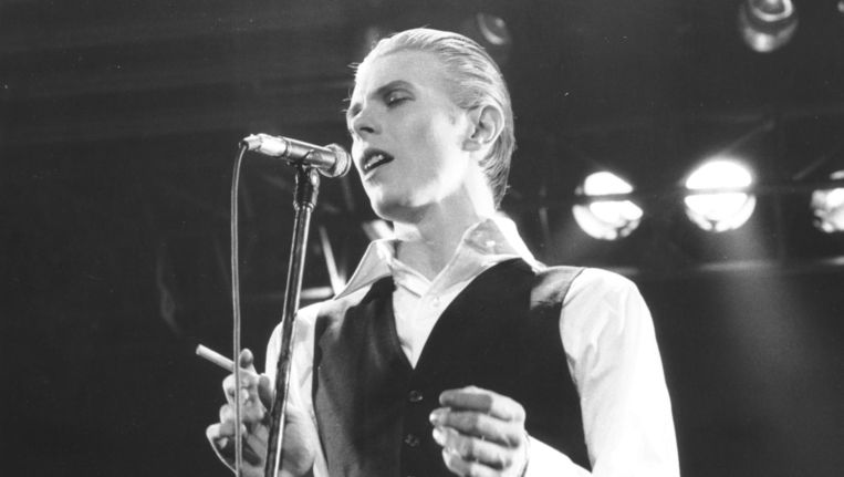 David Bowie in 1976. Beeld getty