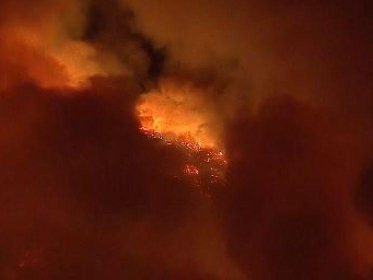 Le feu de forêt californien a ravagé une merveille géologique