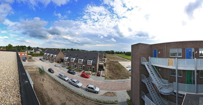 In 2012 werd begonnen met de bouw van appartementen en woningen in Triangel Ochten.