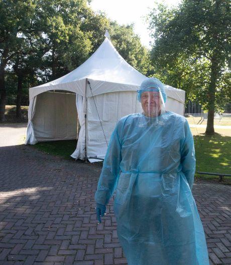 Eigen corona-teststraat Pluryn in Groesbeek: 'Je kunt maar beter voorbereid zijn'