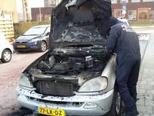 NFI onderzoekt uitgebrande auto