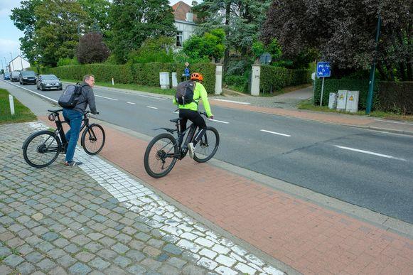Op de fietssnelweg in Nossegem steeg het aantal fietsers tijdens de lockdown met 80 procent in vergelijking met dezelfde periode vorig jaar.