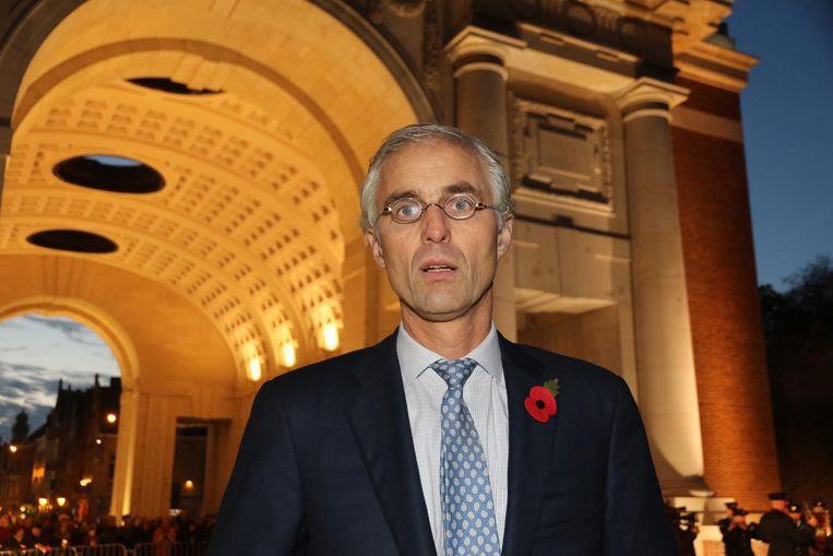 Benoit Mottrie, al sinds 2006 voorzitter van het Last Post Comité, is een gedreven man.