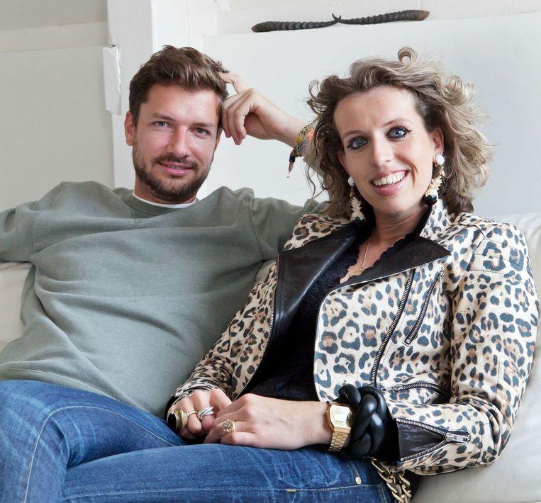 Paul en Frédérique Somers. Beeld Barbara de Hosson