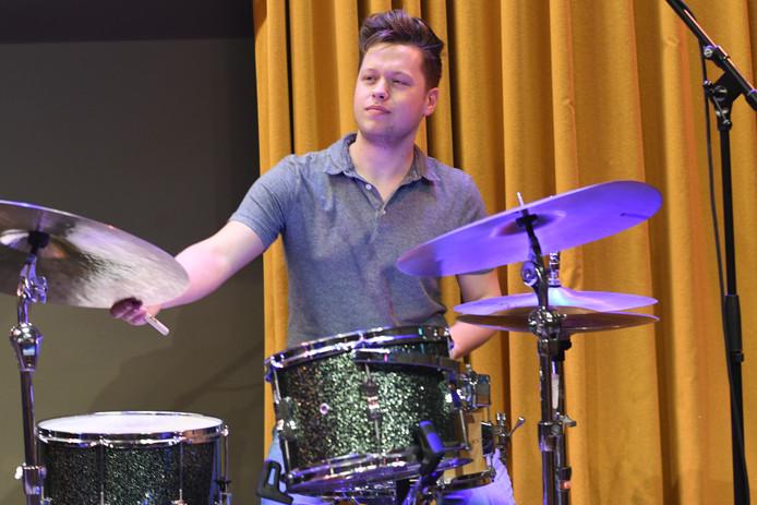 Drummer Jens Meijer uit Rotterdam