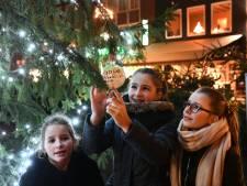 Kerstgedachten in Tielse boom dankzij Sandra uit Dreumel