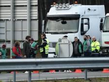 Blokkades Franse truckers om brandstofplan
