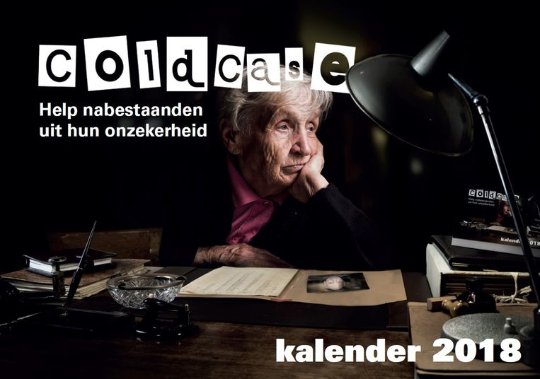 Omslag van de Cold Case kalender 2018. Beeld Politie - Cold Case kalender 2018