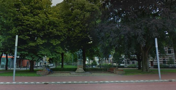 Het monument voor Jozef Israëls in Groningen
