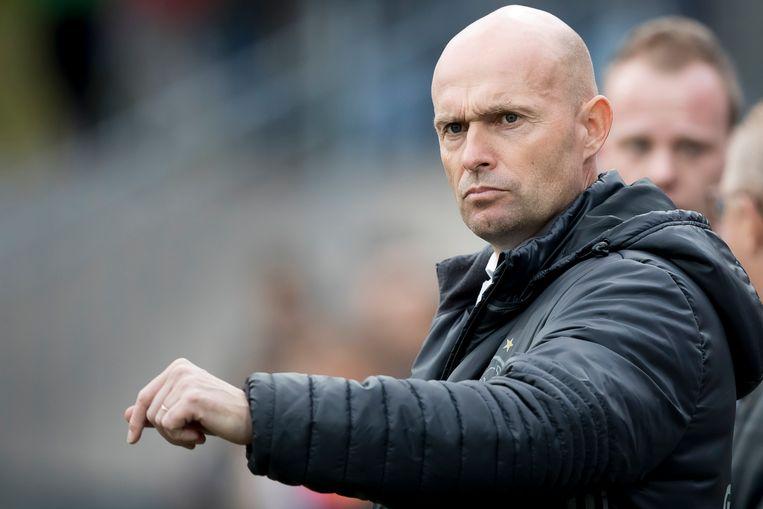 Marcel Keizer was vorig jaar succesvol bij Jong-Ajax en mag nu het 'grote' Ajax leiden. Beeld anp