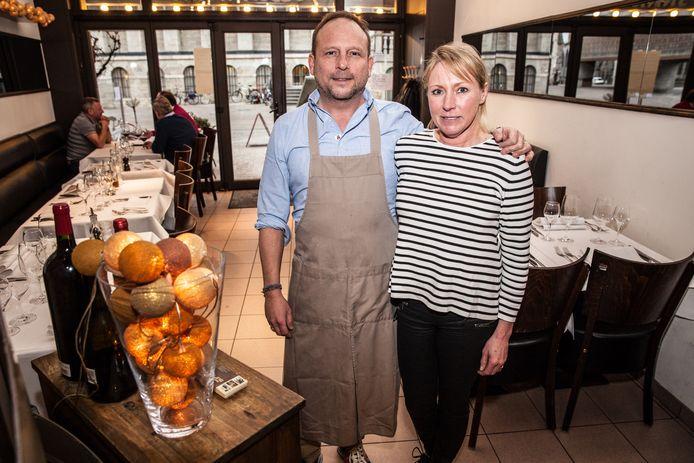 Robby en Christel van restaurant Surtoe