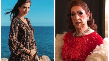 SHOWBITS. Astrid Coppens koestert haar bolle buik en herken jij de acteur die weer even een vrouw wordt?