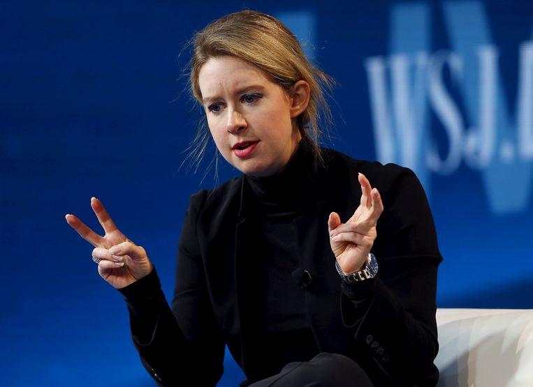 Elizabeth Holmes, oprichter en CEO van Theranos.