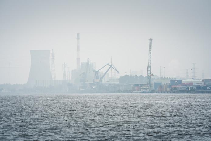 Het havengebied van Gent.