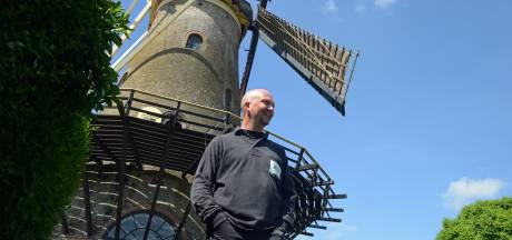 Inzet Schouwse molenaar Jeroen van Dijke beloond met onderscheiding