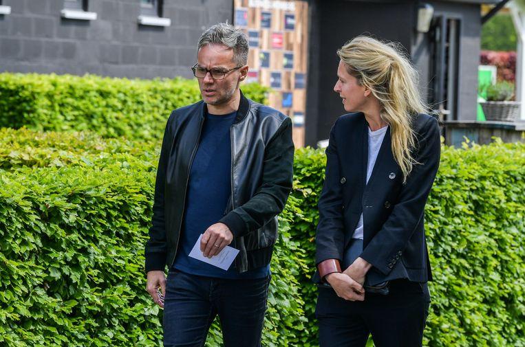 Peter Van de Veire en Cath Luyten.
