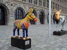Kleurrijke ezels van Donkey Parade brengen 71.550 euro op