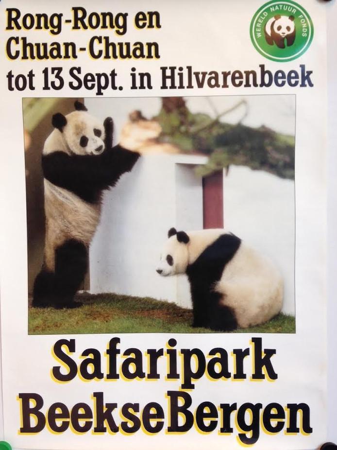 Van april tot medio september 1987 trokken de bamboe etende panda's Rong-Rong en Chuan-Chuan veel bekijks.