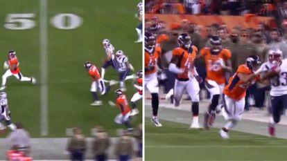 VIDEO: Deze weergaloze sprint uit het American Football móet u gezien hebben