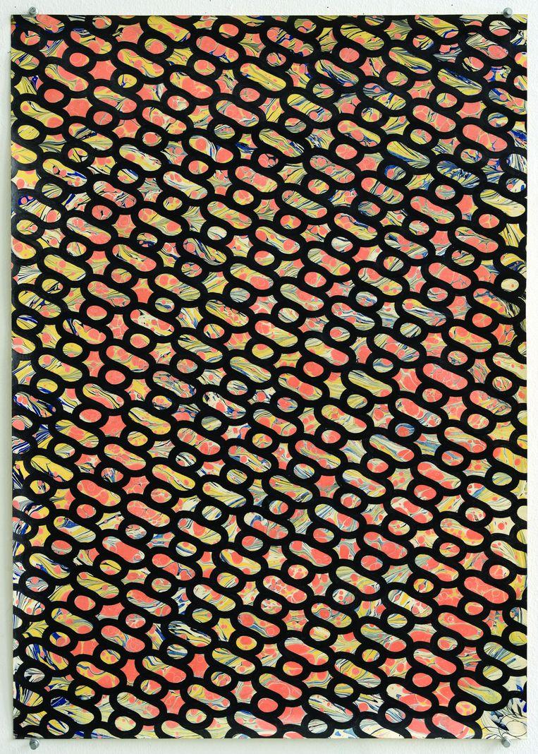 Koen Taselaar: patternpattern #30, 2014. Beeld -