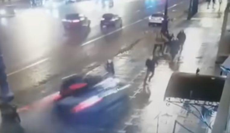 Beelden van de vreselijke crash