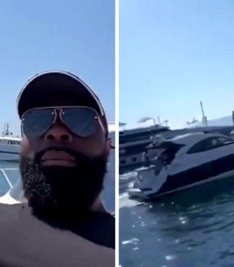Kaaris se fait caillasser sur son yacht à Cannes