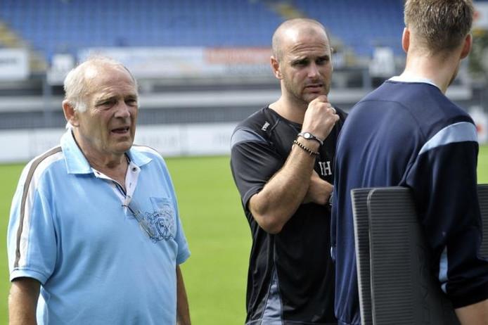 Sandor Popovics bij zijn aanstelling als RBC-trainer.foto Robert van den Berge