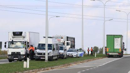 Politie controleert opnieuw op zwaar verkeer