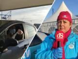 Staking bij Scania Zwolle: medewerkers door 'staakstraat'