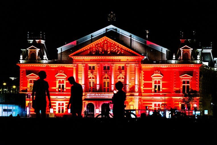 Het Concertgebouw in Amsterdam Beeld Hollandse Hoogte / Jan Boeve