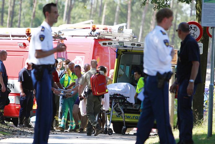 In het Henschotermeer verdronk in 2012 een jongetje van zes jaar. Agent Erik van Breukelen was daarbij.