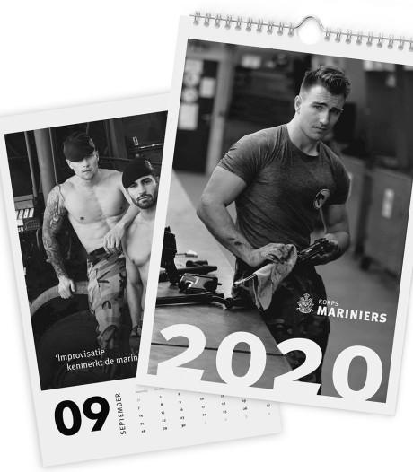 Pirelli-kalender, maar dan met onze mariniers
