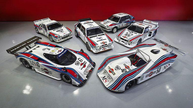De zes Lancia's moeten samen rond de 6,8 miljoen euro opleveren.