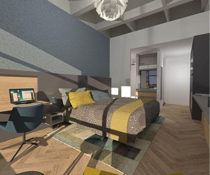 Nog een kamer in het U Parkhotel