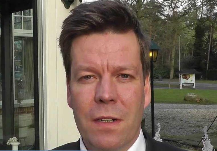 Marc Jan Ahne (Ommen), vertrokken na onderzoek rijksrecherche naar diefstal. Beeld