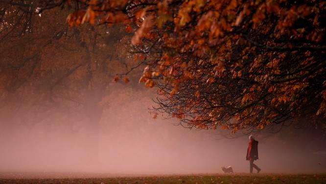 Na grijze start van de dag maken wolken en mist plaats voor opklaringen