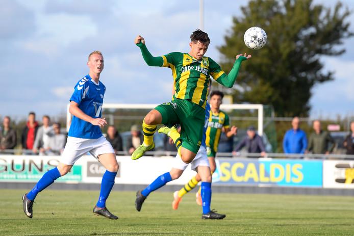 Delano Ladan scoorde maandag tegen Serooskerke en vrijdag ook tegen RCS.