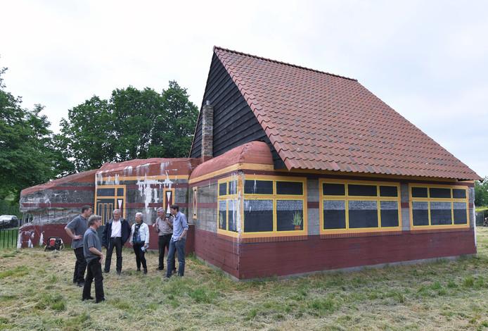 'Boerderijbunker' op Nieuw-Abeele, aan de Nieuwe Vlissingseweg.
