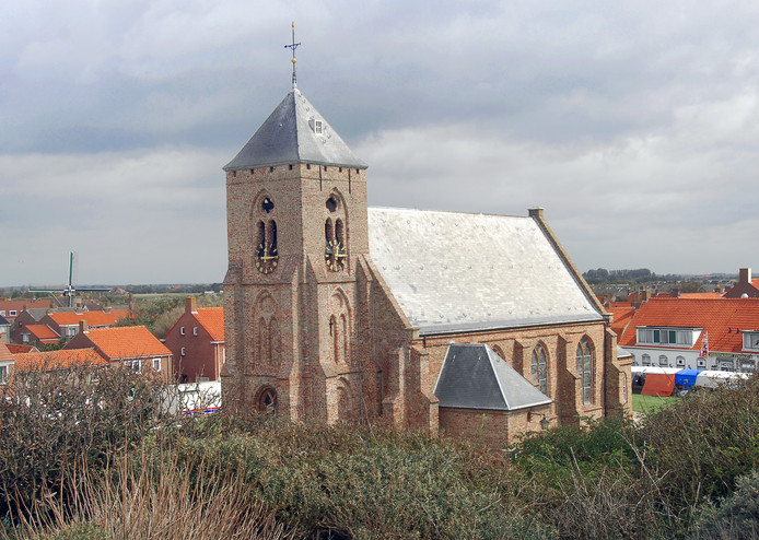 De Catharinakerk in Zoutelande