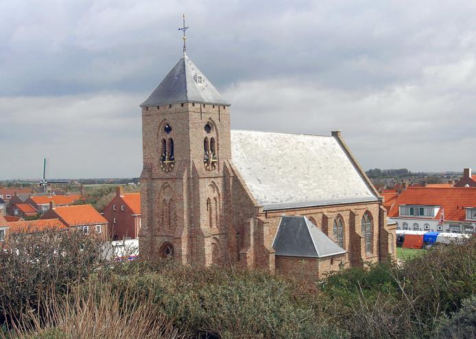 De Catharinakerk in Zoutelande