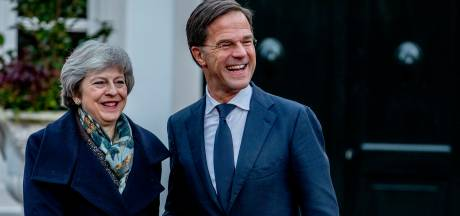 Rutte wenst May 'alle succes' met brexitstemming