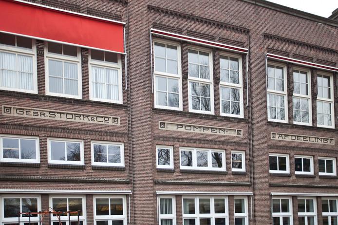 De voormalige fabriek van Stork Pompen (later Flowserve) aan de Lansinkesweg is een gemeentelijk monument. Foto: Mark Troost