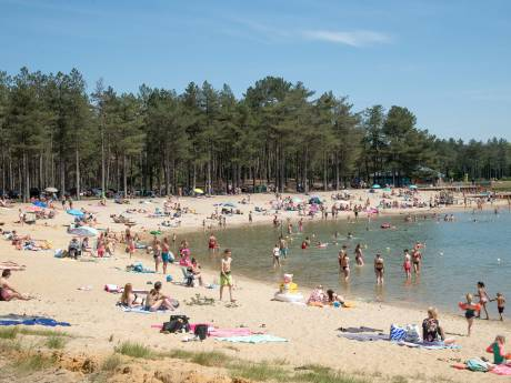 Corona-maximum bereikt: verschillende stranden in Oost-Nederland afgesloten vanwege drukte